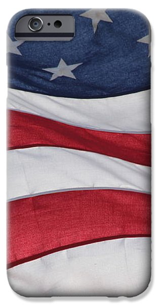 Old Glory iPhone Case by Lauri Novak