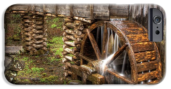 Grist Mill iPhone Cases - Old Grist MIll iPhone Case by Photography by Laura Lee