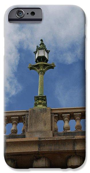 Old London Bridge - AZ iPhone Case by Carol  Eliassen