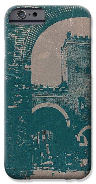 Old Milan iPhone Case by Naxart Studio