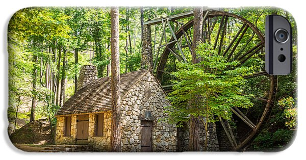 Berry iPhone Cases - Old Mill at Berry College iPhone Case by Sussman Imaging