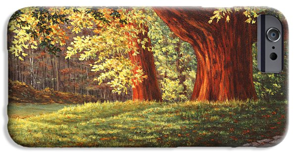 Concord Ma. iPhone Cases - Old Neighbors iPhone Case by Elaine Farmer
