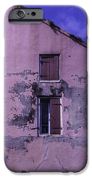 Building iPhone Cases - Old Pink Building iPhone Case by Garry Gay