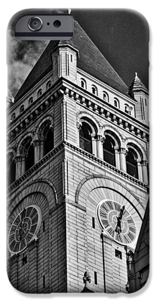 Business Photographs iPhone Cases - Old Post Office Pavilion Tower #2 iPhone Case by Stuart Litoff