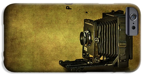 Camera iPhone Cases - Old School iPhone Case by Evelina Kremsdorf