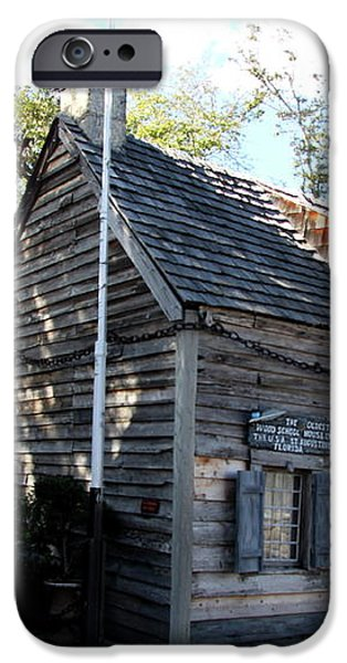 Old School House - St Augustine iPhone Case by Christiane Schulze Art And Photography