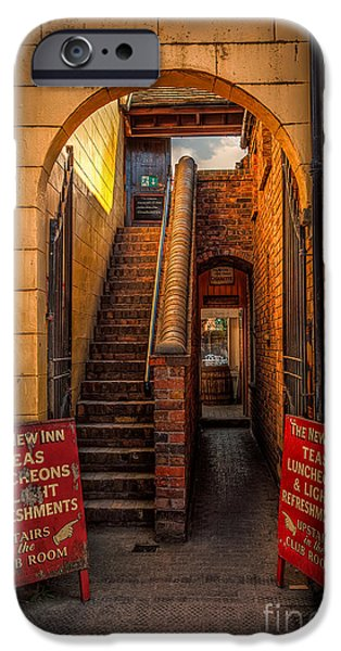 Rail Digital Art iPhone Cases - Old Signs iPhone Case by Adrian Evans