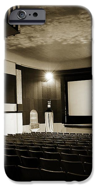 Old theater 2 iPhone Case by Marilyn Hunt