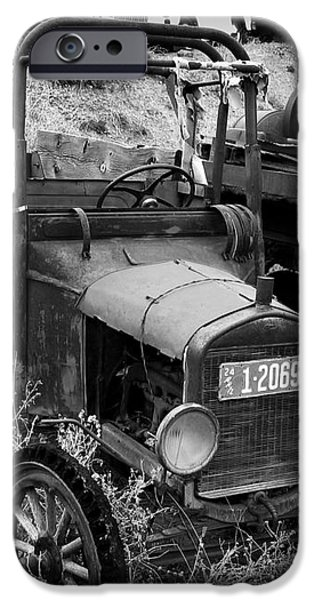 Old Times 2 iPhone Case by Perry Webster