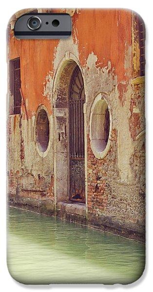 Venetian Doors iPhone Cases - Old World Charm iPhone Case by Danny Van den Groenendael