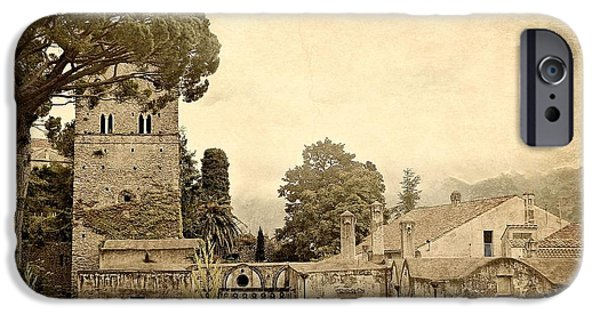 Town iPhone Cases - Old World Charm of Ravello iPhone Case by Toni Abdnour