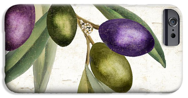 Olive iPhone Cases - Olive Branch III iPhone Case by Mindy Sommers