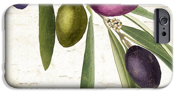 Olive iPhone Cases - Olive Branch iPhone Case by Mindy Sommers