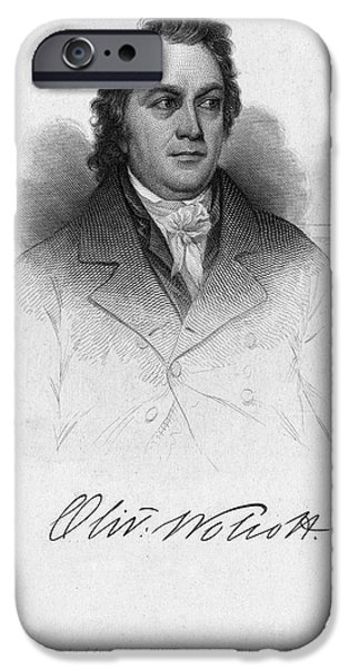 Recently Sold -  - Politician iPhone Cases - Oliver Wolcott Jr iPhone Case by Granger