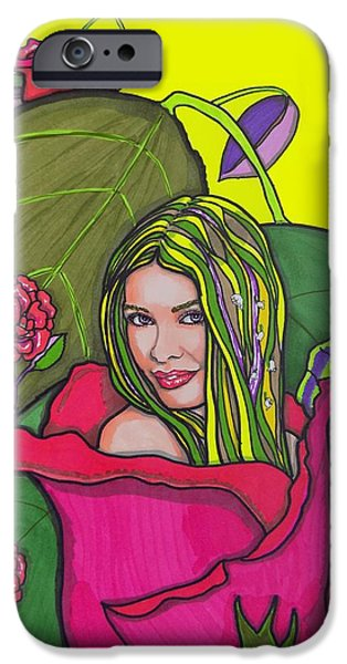 Model iPhone Cases - Olivia iPhone Case by Mary Sperling