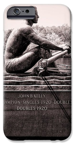 Olympic Champion - John B Kelly iPhone Case by Bill Cannon
