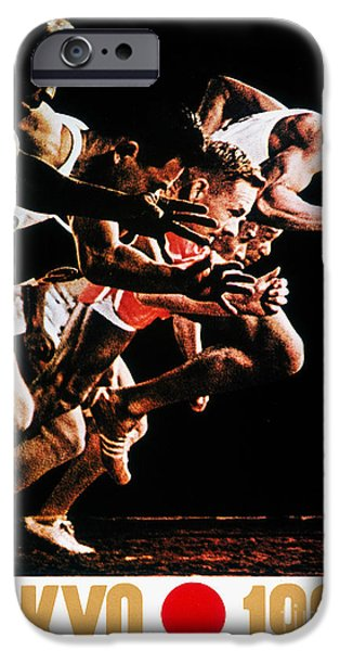 OLYMPIC GAMES, 1964 iPhone Case by Granger