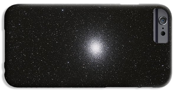 Stellar iPhone Cases - Omega Centauri Globular Star Cluster iPhone Case by Philip Hart