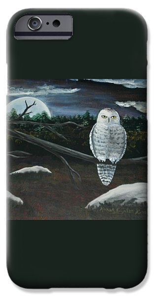 Omens of Change iPhone Case by Karen Giles