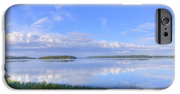 Morning iPhone Cases - On August morning iPhone Case by Veikko Suikkanen