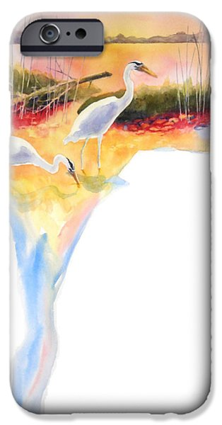 On Fire iPhone Case by Kathy Braud