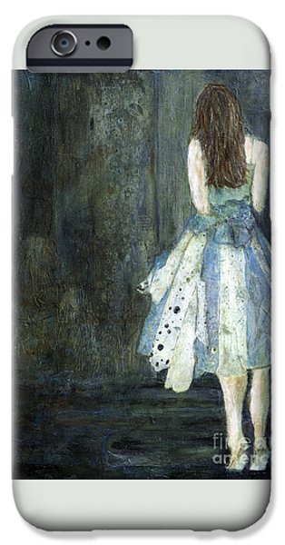 Celebrate Mixed Media iPhone Cases - On Her Toes iPhone Case by Barb Pearson