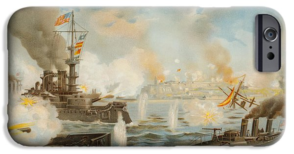 War iPhone Cases - On May 12, 1898 During The iPhone Case by Ken Welsh