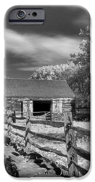On the farm iPhone Case by Joann Vitali