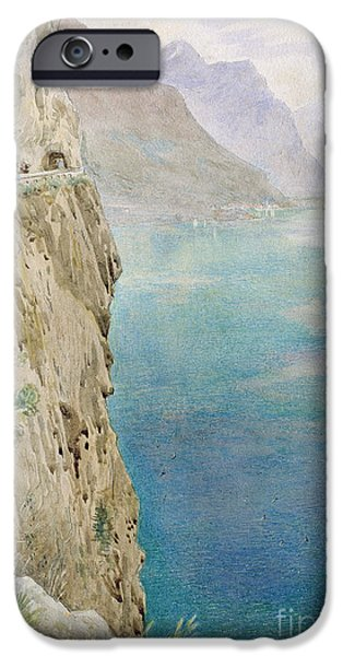 Recently Sold -  - Sea iPhone Cases - On the Italian Coast iPhone Case by Harry Goodwin