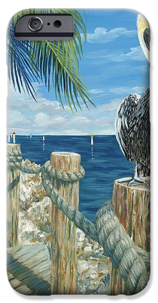 Key iPhone Cases - On the Lookout iPhone Case by Danielle  Perry