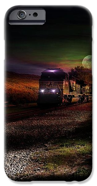 On the Prowl iPhone Case by Rick Lipscomb