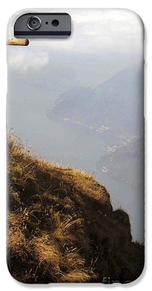 River View iPhone Cases - On Top of the World iPhone Case by Christina Gupfinger