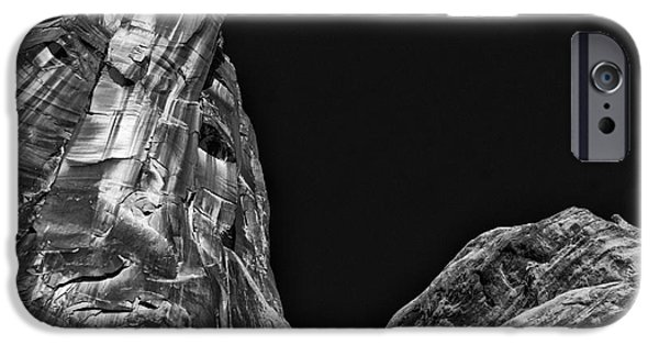 River View iPhone Cases - On Utah 279 iPhone Case by William Fields