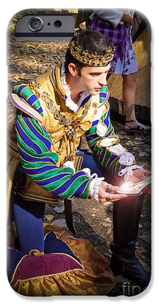 One Day My Prince Will Come iPhone Case by Andee Design