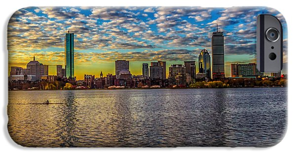 Boston Ma iPhone Cases - One is the loneliest number iPhone Case by Larry  Richardson
