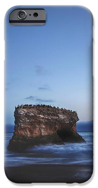 Santa Cruz Ca iPhone Cases - One More Night iPhone Case by Laurie Search