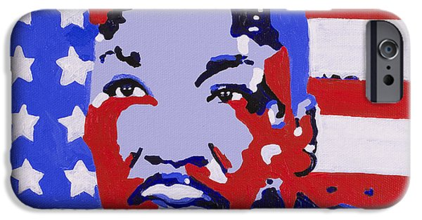 Politician iPhone Cases - One Nation Under One Flag iPhone Case by Dari Artist