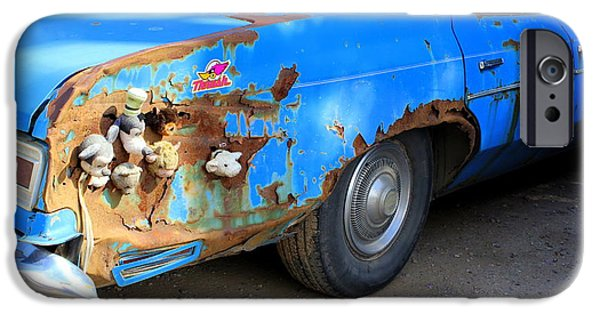 Old Cars iPhone Cases - One Of A Kind iPhone Case by Fiona Kennard