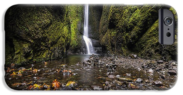 October iPhone Cases - Oneonta Gorge iPhone Case by Mark Kiver
