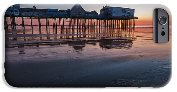Newengland iPhone Cases - OOB at Dawn iPhone Case by Tony Baldasaro