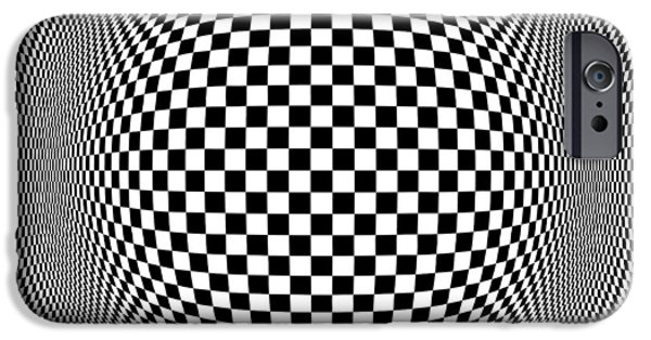 Caruso iPhone Cases - Op Art 1 iPhone Case by Anthony Caruso