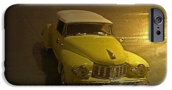 Old Cars iPhone Cases - Open All Night iPhone Case by Billy Cooper Rice
