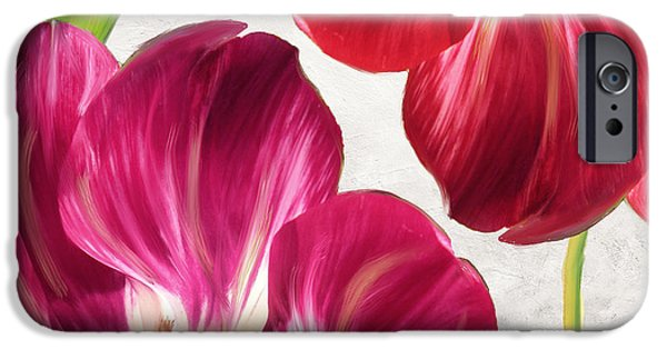 Fuschia iPhone Cases - Open Arms iPhone Case by Mindy Sommers