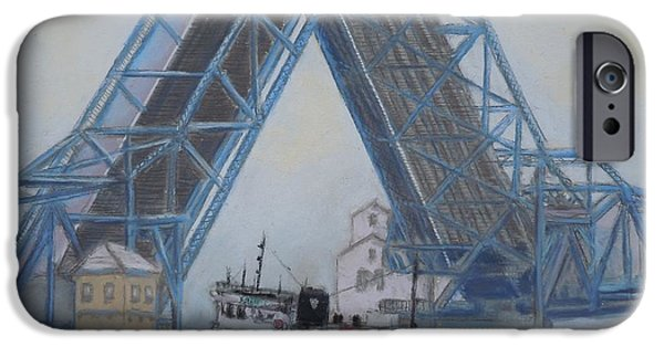 Recently Sold -  - Bay Bridge iPhone Cases - Open For Business iPhone Case by Bethany Kirwen