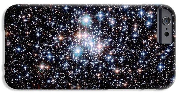 Stellar iPhone Cases - Open Star Cluster Ngc 290 iPhone Case by E. Olszewskiu. Arizonanasaesastsci