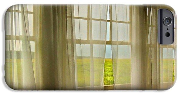Little iPhone Cases - Open Window Breeze iPhone Case by Laura Ragland