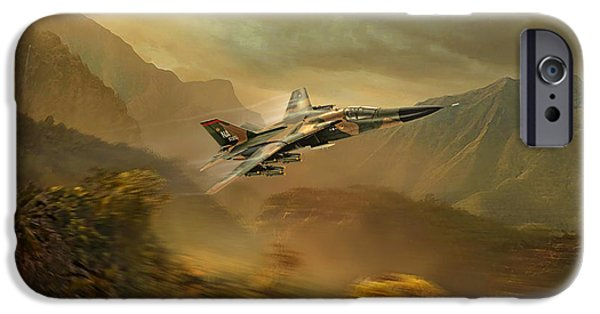 Wwi iPhone Cases - Operation Linebacker iPhone Case by Peter Van Stigt