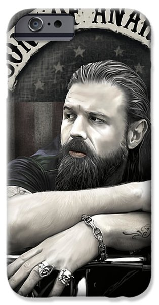 Opie iPhone Cases - Opie iPhone Case by Michael Gibbs