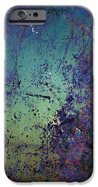 Recently Sold -  - Abstract Expressionist iPhone Cases - Opt.44.14 Wine Cave iPhone Case by Derek Kaplan