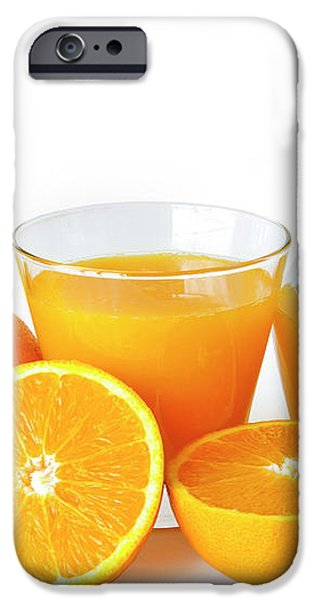 Orange Juice iPhone Case by Carlos Caetano
